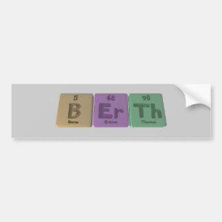 Berth-B-Er-Th-Boron-Erbium-Thorium.png Bumper Sticker