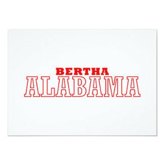 Bertha Alabama City Design Announcements