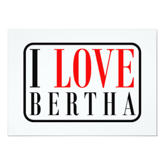 Bertha Alabama City Design Invite