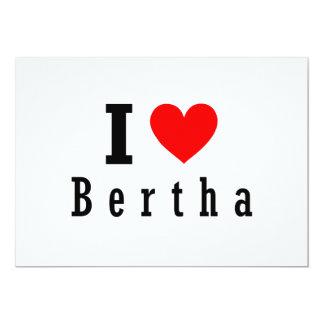 Bertha Alabama City Design Custom Announcement