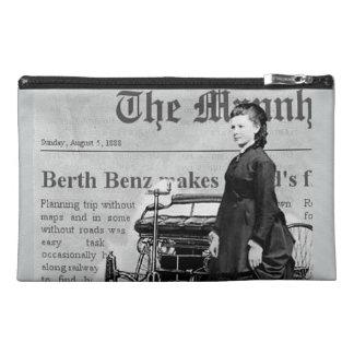 Bertha Benz driver first long distance auto trip Travel Accessories Bags