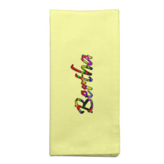 Bertha dinner accessories yellow cloth napkins