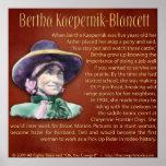 Bertha Kaepernik-Blancett Posters