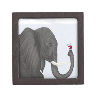 Bertha The Elephant And Her Visitor Gift Boxes