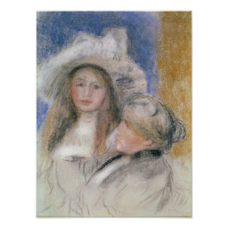 Berthe Morisot  and her Daughter Julie Manet Poster
