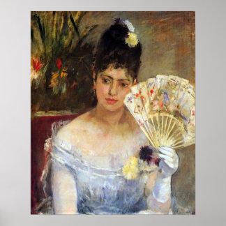 Berthe Morisot-At the Ball Print