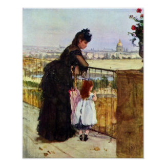 Berthe Morisot-Balcony Posters