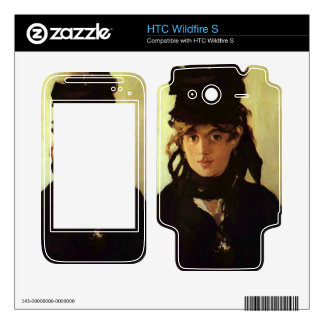 Berthe Morisot by Edouard Manet HTC Wildfire S Skin