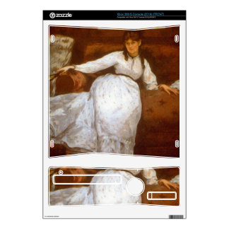 Berthe Morisot by Edouard Manet Xbox 360 S Skin