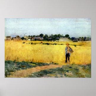 Berthe Morisot-Cornfield Print
