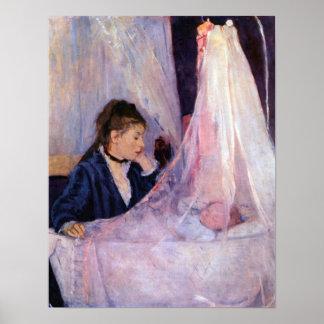 Berthe Morisot-Cradle Print