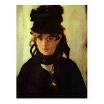 Berthe Morisot de Eduardo Manet Postales