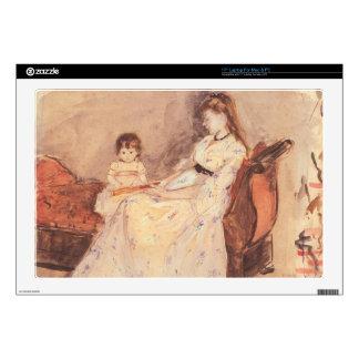 Berthe Morisot - Edma la hermana del ingenio del Portátil Calcomanía