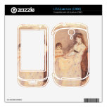 Berthe Morisot - Edma the sister of the artist wit LG Quantum Decals