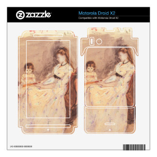 Berthe Morisot - Edma the sister of the artist wit Motorola Droid X2 Decals