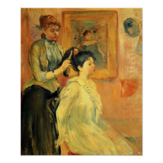 Berthe Morisot-Hairstyle Poster
