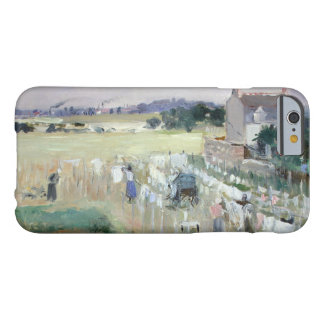 Berthe Morisot - Hanging the Laundry out to Dry Barely There iPhone 6 Case