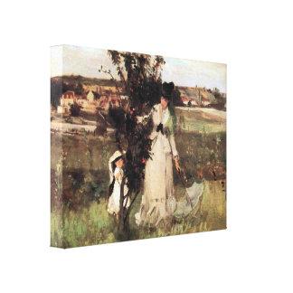 Berthe Morisot - Hide-and-seek Canvas Print