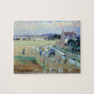Berthe Morisot - Laundry drying puzzle