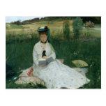 Berthe Morisot - lectura Tarjetas Postales