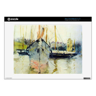 Berthe Morisot - Midina at the entrance to the Isl Decal For Acer Chromebook