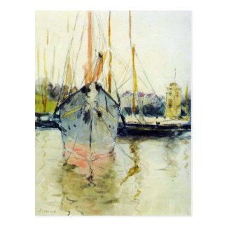 Berthe Morisot - Midina en la entrada al Isl Tarjeta Postal