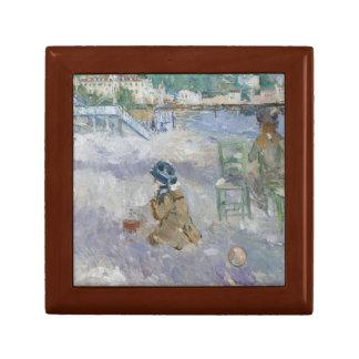 Berthe Morisot - Nice Beach Jewelry Box