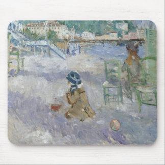 Berthe Morisot - Nice Beach Mouse Pad