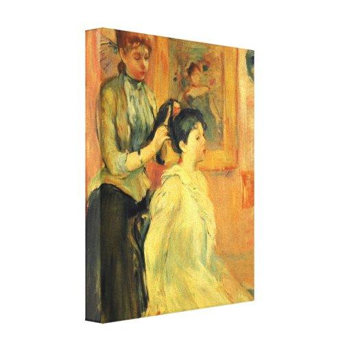 Berthe Morisot - peinado Impresiones En Lona