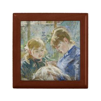 Berthe Morisot - The Artist's Daughter, Julie Jewelry Box