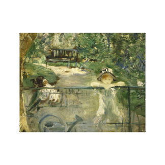 Berthe Morisot - The Basket Chair Canvas Print