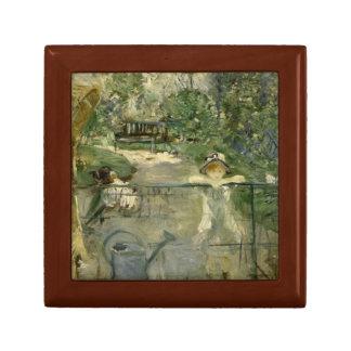 Berthe Morisot - The Basket Chair Jewelry Box