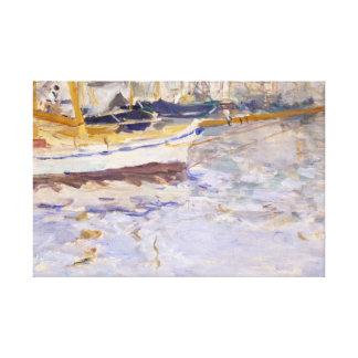 Berthe Morisot - The Port of Nice Canvas Print