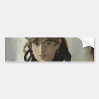 Berthe Morisot with a Bouquet of Violets by Manet Car Bumper Sticker