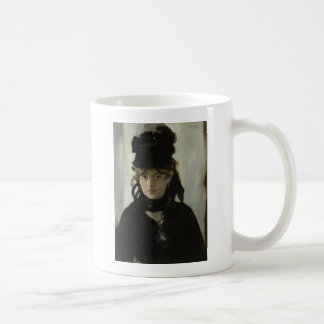 Berthe Morisot with a Bouquet of Violets by Manet Coffee Mug