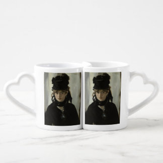 Berthe Morisot with a Bouquet of Violets by Manet Coffee Mug Set