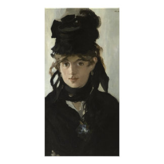 Berthe Morisot with a Bouquet of Violets by Manet Photo Cards