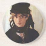 Berthe Morisot with a Bouquet of Violets, Manet Coasters