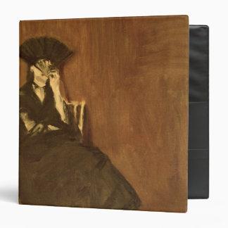 Berthe Morisot  with a Fan, 1872 Vinyl Binder