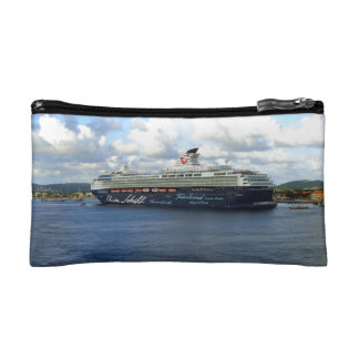 Berthed in Bonaire for the Day Cosmetic Bag