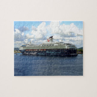 Berthed in Bonaire Jigsaw Puzzle