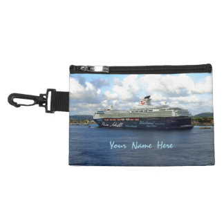 Berthed in Bonaire Personalized Cruise Travel Accessory Bag