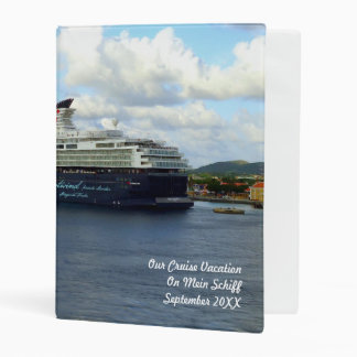 Berthed in Bonaire Personalized Mini Binder
