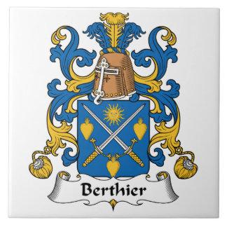 Berthier Family Crest Ceramic Tiles
