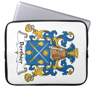 Berthier Family Crest Laptop Sleeves
