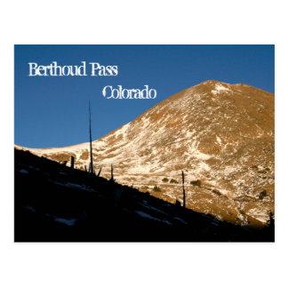 Berthoud Pass, CO Postcard