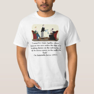 bertie__jeeves_and_aunt_agatha_by_edgar1975-d45... T-Shirt