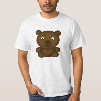 Bertie the Brown Bear Cartoon T-Shirt