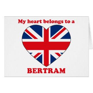 Bertram Greeting Card