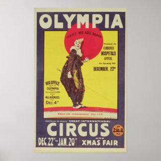 Bertram muele el poster del circo